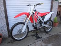 2010 Honda CRF 250 fuel Injection