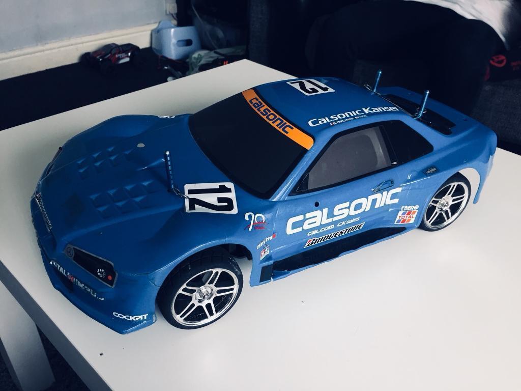 Schumacher mission brushless rc car