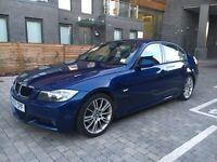 BMW 320D M Sport Saloon Le Mans Blue 2007 Automatic Leathers