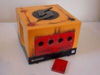 Nintendo Gamecube Custom Console Metroid Samus Edition + Official Controller - For Collectors! RARE