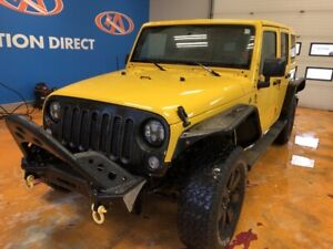 2015 Jeep Wrangler Unlimited Sahara UNLIMITED! 4X4/ LEATHER/...