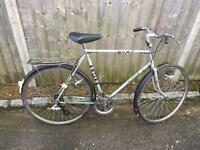 Vintage Gents BSA Town Bike. Good Condition, Free D-Lock, Lights, Delivery