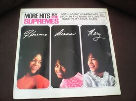 THE SUPREMES - MORE HITS LP IN EXCELLENT CONDITION.