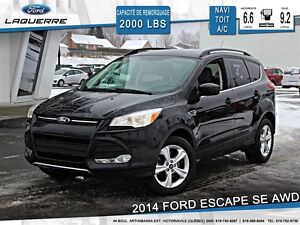 2014 Ford Escape **SE*AWD*NAVI*TOIT*CRUISE*A/C**