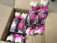 8 x Wholesale Joblot Bath Bubble Sparkles Body Lotion Sponge Shower Gift Set GREAT FOR RESALE