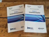 Kaplan - Investment Management Certificate (IMC) - Book 1 and Book 2 & Q&A Workbook