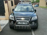 Chevrolet captiva 2010,black LTZ MODEL TOP OF RANGE,low miles, FSH,