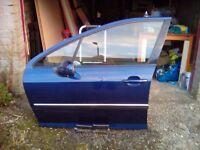 Door /Peugeot 407 2004 front n/s door