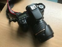 Canon 70D with 2 x lenses + free bag, 2 batteries and memory card