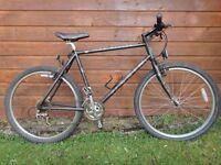 Marin Bear valley retro bike, 26 inch wheels, 21 inch frame, 21 gears