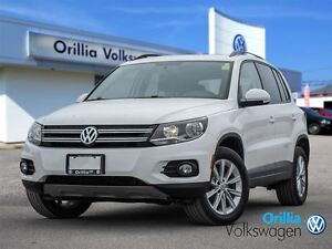 2013 Volkswagen Tiguan 4MOTION, BLUETOOTH, HEATED SEATS