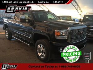 2018 GMC Sierra 3500HD Denali DIESEL, NAVIGATION, BED LINER,...
