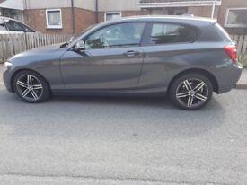 BMW 1 SERIES 116D 2.0 SPORT in GREY