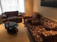 Sofa and table ,many other furniture available