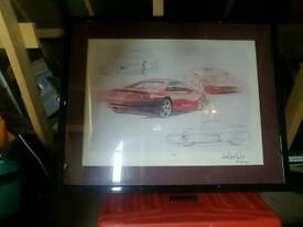 Ferrari f355 drawing
