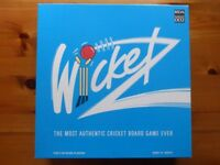 Wicketz Cricket Board Game - 1994 - Excellent Condition