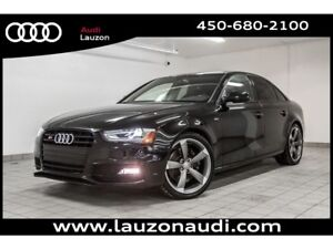 2016 Audi S4 3.0T PROGRESSIV+ BLACK OPTICS SPORT DIFF