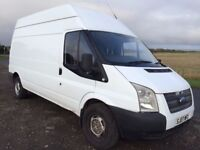 2007 FORD TRANSIT 2.4 100/T350 LWB HIGH ROOF RWD WELL MAINTAINED READY FOR WORK NO VAT