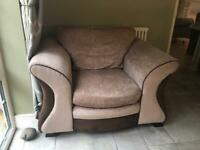 Large dfs armchair