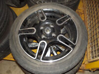 MG3 15 INCH ALLOY WHEELS AND TYRES NEW
