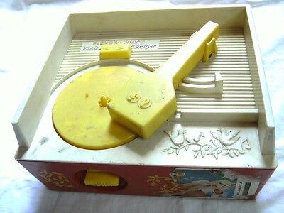 jouet ancien pickup Fisher Price vintage phonographe tourne disque