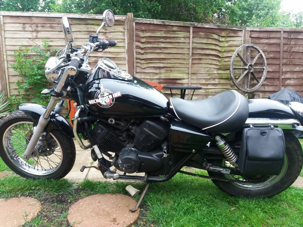honda shadow 125 bobber chopper steel for sell in northampton northamptonshire gumtree. Black Bedroom Furniture Sets. Home Design Ideas