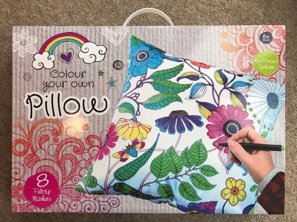 Brand new colour in pillow