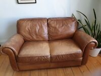 Faux leather sofa for free. Pick up only.