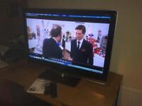 "Sharp Aquos 40"" LED tv full HD 1080p fully working"