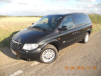 CHRYSLER GRAND VOYAGER 'SIGNATURE' EDITION, 2007, AUTO, DIESEL, STOW 'N' GO MODEL, FSH, 105K. AUTO,