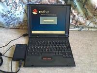 Thinkpad notebook, Running lynx redhat.