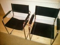 2 x designer chairs