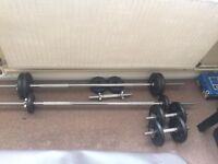 Weight lifting weights dumbell barbell kg
