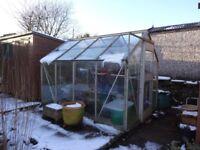 Aluminium frame Greenhouse