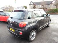 Fiat 500L Lounge 5dr (grey) 2013