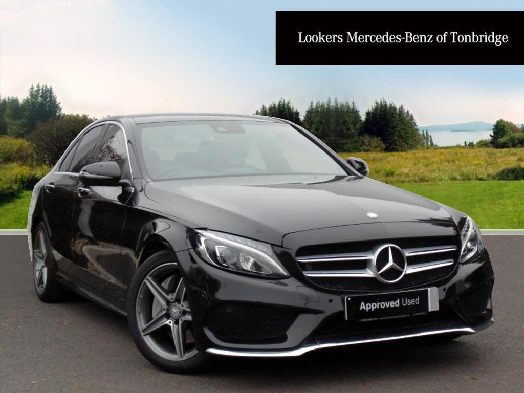 mercedes benz c class c300 h amg line premium plus black 2015 10 22 in tonbridge kent gumtree. Black Bedroom Furniture Sets. Home Design Ideas