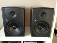 Mackie MR8 MK1 monitor speakers. All Boxed AS New !!!
