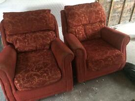 2 Arm chairs. FREE!