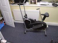 cross trainer/excercise bike