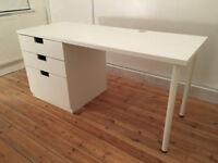Desk with 3 drawers - IKEA - Part of Stuva range - UNUSED - ideal for home office or childs room