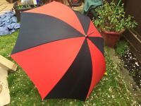 LARGE SUN UMBRELLA OR GOLF UMBRELLA