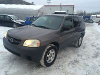 2004 Mazda Tribute DX V6 4X4 3.0L V6 1999$ 514-692-0093