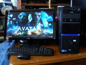ASUS VS-400 CORE i5  TOWER AND AOC 24 INCH Cooks Hill Newcastle Area Preview