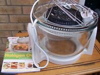 Halogen oven (cooks), new unused, unwanted gift. Box has been opened to look at product.