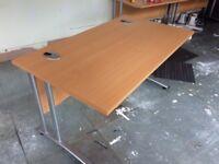 1400mm office desk- last 4 in stock