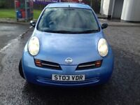 Nissan Micra 1.5 Dci For Sale 750 pounds.