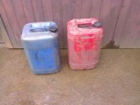 FREE 50 Litres Of Used Engine Oil For Waste Oil Burner Heater Ect FREE