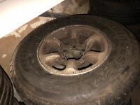 Mitsubishi shogun wheels