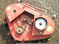 £40.00 countax, 36 inch cut, three blade,mower deck, new blades, bearings, three new pulleys,