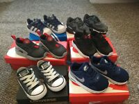 Infant boys size 5.5 trainers